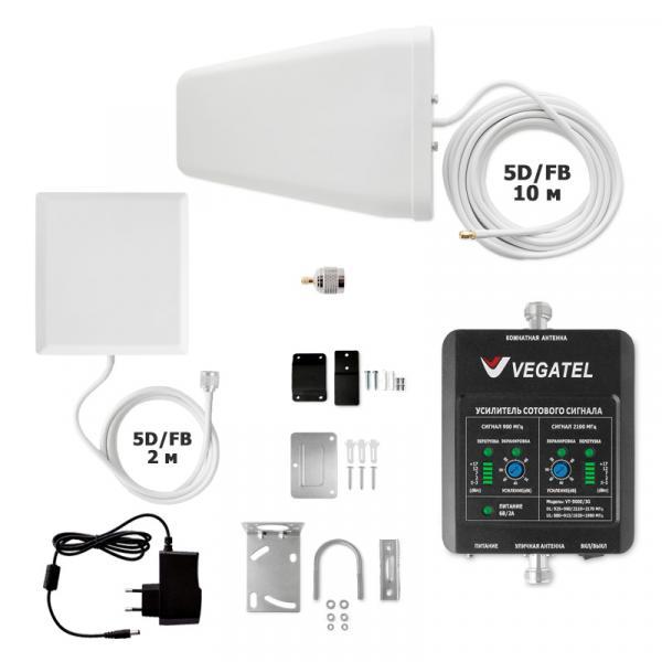 Комплект Vegatel VT-900E/3G-kit (дом, LED)