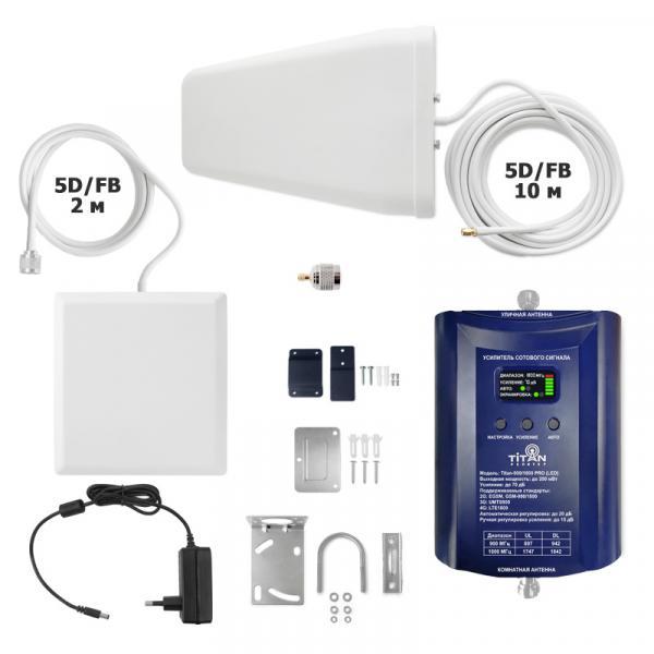 Комплект Vegatel Titan-900/1800 PRO (LED)