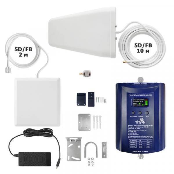 Комплект Vegatel Titan-1800/2100/2600 PRO (LED)