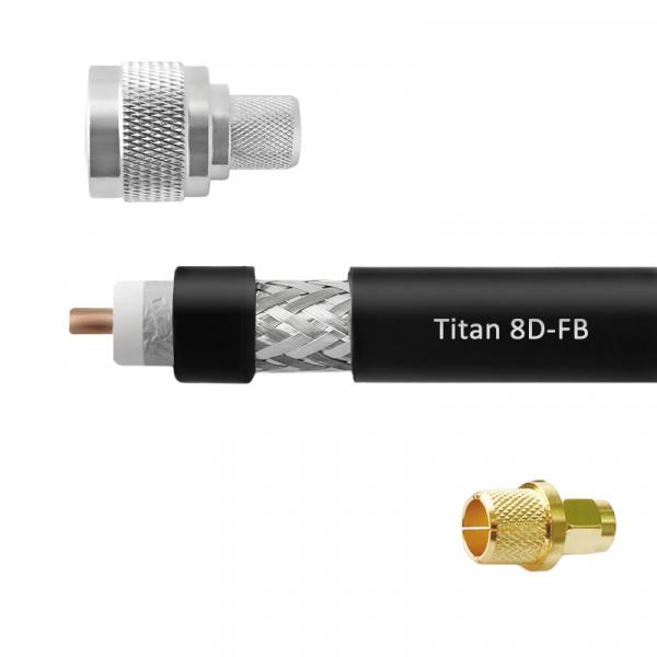 Кабельная сборка 8D-FB Titan (N-male - SMA-male)