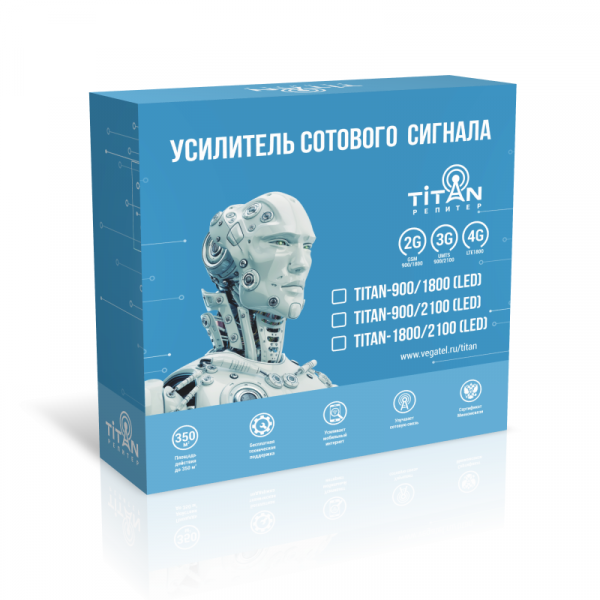 Комплект Vegatel Titan-900/2100 (LED)
