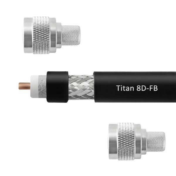 Кабельная сборка 8D-FB Titan (N-male - N-male)
